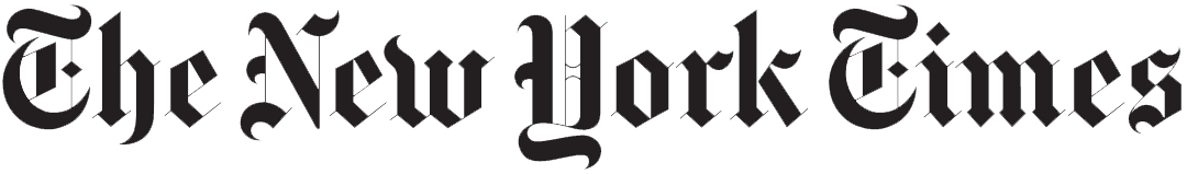 the new york times newspaper logo. in the