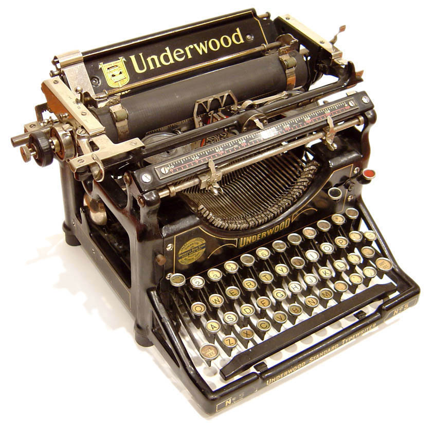 Underwood Typewriter N°5