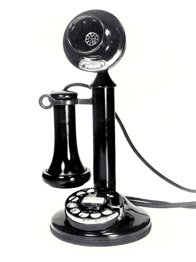 AT&T Western Electric dial phone, circa 1921