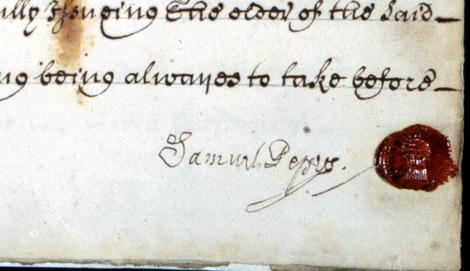 Pepys-signature