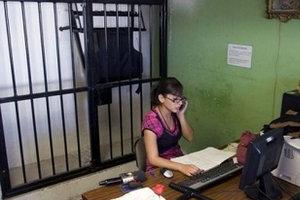 Marisol Valles García at jail