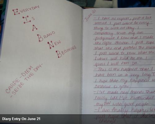 Casey's diary ??