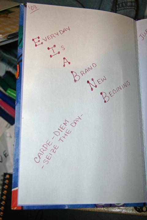 Casey's diary 08