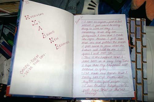 Casey's diary 0?